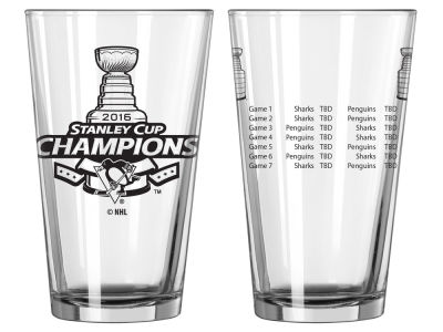 Pittsburgh Penguins 2016 Stanley Cup Champs 16 oz Summary Pint - Event