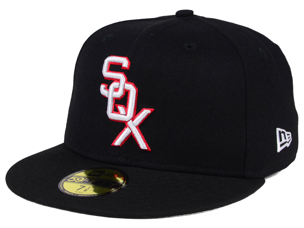 new product e7e4a 148e9 wholesale chicago white sox new era mlb cooperstown 59fifty cap f5810 75684