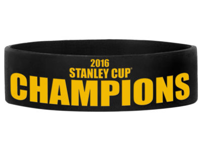 Pittsburgh Penguins 2016 Stanley Cup Champs Event Bulk Bandz 1pk