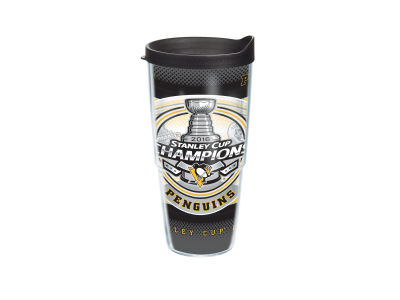 Pittsburgh Penguins 2016 Stanley Cup Champs Event 24oz. Wrap Tumbler w/ Lid