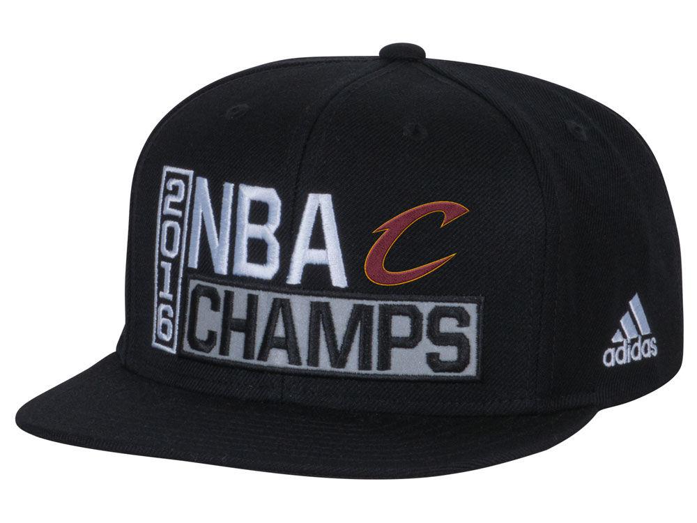Cleveland Cavaliers adidas NBA 2016 Locker Room Finals Champ Snapback Cap  337130389dc