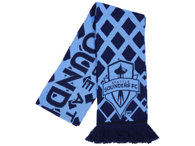 Seattle Sounders FC Knit Diamond Scarf