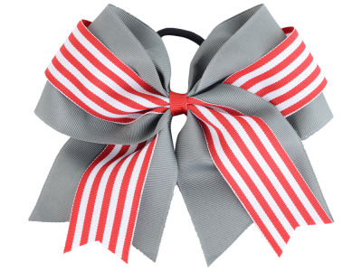 Ohio State Buckeyes 3inch Layered Stripe Ponytail