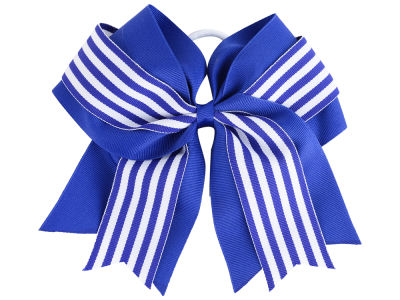 Kentucky Wildcats 3inch Layered Stripe Ponytail