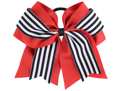 Louisville Cardinals 3inch Layered Stripe Ponytail