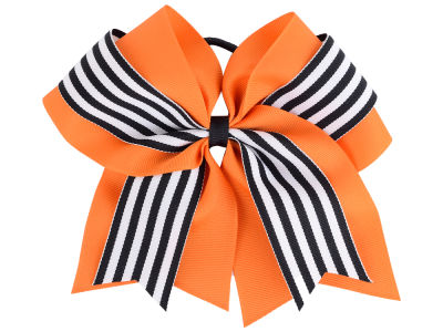 Oklahoma State Cowboys 3inch Layered Stripe Ponytail