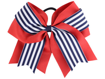 Ole Miss Rebels 3inch Layered Stripe Ponytail