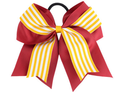 Iowa State Cyclones 3inch Layered Stripe Ponytail