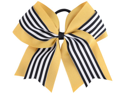 Purdue Boilermakers 3inch Layered Stripe Ponytail