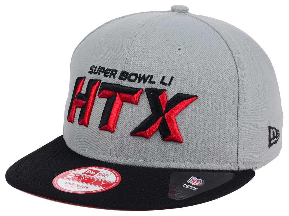 a09d17aee Super Bowl LI New Era Super Bowl LI HTX 9FIFTY Strapback Cap