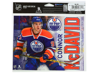 Edmonton Oilers Connor McDavid Player Decal 5x6