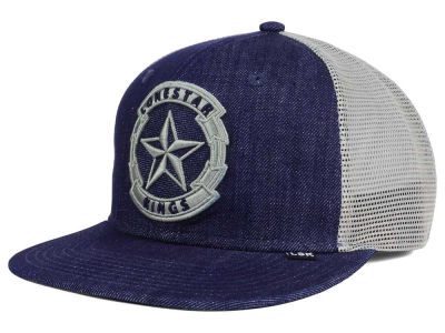 Lone Star Kings Denim Trucker Snapback Cap