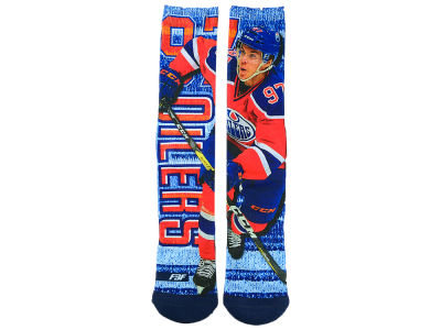 Edmonton Oilers Connor McDavid Player Mesh Crew Sock