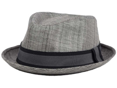 LIDS Private Label Polyester Porkpie w/ Black and Grey Band