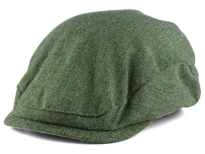 LIDS Private Label Light Grey Tweed Flat Cap