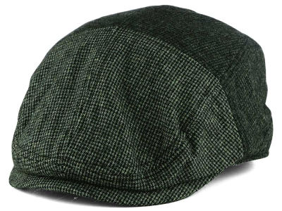 LIDS Private Label Two Tone Charcoal & Light Grey Flat Cap