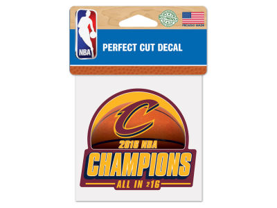Cleveland Cavaliers 2016 NBA Finals Champs 4x4 Decal - Event
