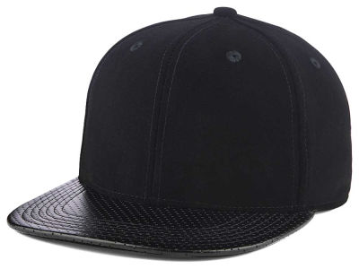 LIDS Private Label Velvet Perforated Snapback Hat