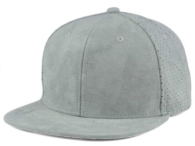 LIDS Private Label Ultra Suede Perforated Flat Brim Buckle Hat