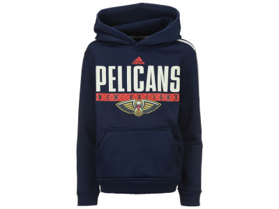 New Orleans Pelicans adidas NBA Youth Playbook Hoodie