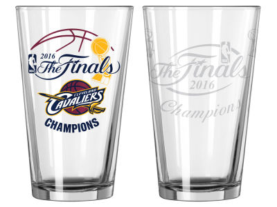 Cleveland Cavaliers 2016 NBA Finals Champs Satin Etch Pint-Event