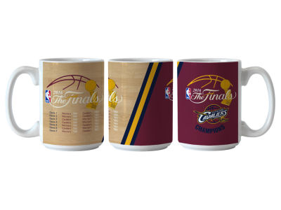 Cleveland Cavaliers 2016 NBA Finals Champs 15 oz Summary Event Coffee Mug