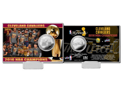 Cleveland Cavaliers 2016 NBA Finals Champs Coin Card-EVENT