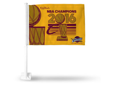 Cleveland Cavaliers 2016 NBA Finals Champs Event Car Flag