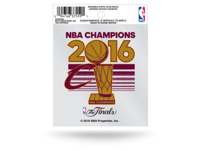 Cleveland Cavaliers 2016 NBA Finals Champs Small Static - Event