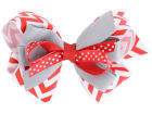 Ohio State Buckeyes Stacked Bow Headbands & Wristbands