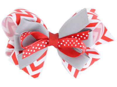 Ohio State Buckeyes Stacked Bow