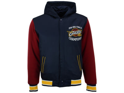 Cleveland Cavaliers NBA Men's Champ Reversible Poly-Twill Jacket
