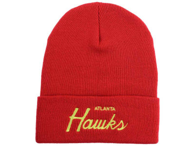 Atlanta Hawks Mitchell and Ness NBA Old Cool Knit