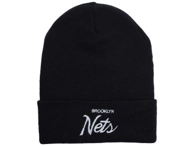 Brooklyn Nets Mitchell and Ness NBA Old Cool Knit