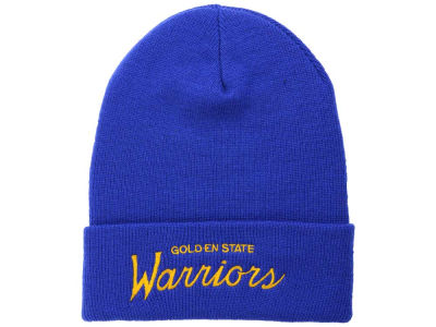 Golden State Warriors Mitchell and Ness NBA Old Cool Knit