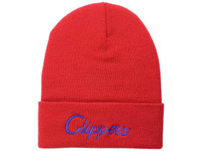 Los Angeles Clippers Mitchell and Ness NBA Old Cool Knit
