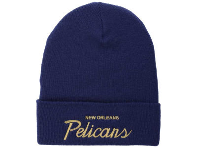 New Orleans Pelicans Mitchell & Ness NBA Old Cool Knit