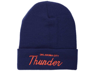 Oklahoma City Thunder Mitchell and Ness NBA Old Cool Knit