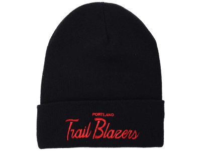 Portland Trail Blazers Mitchell & Ness NBA Old Cool Knit