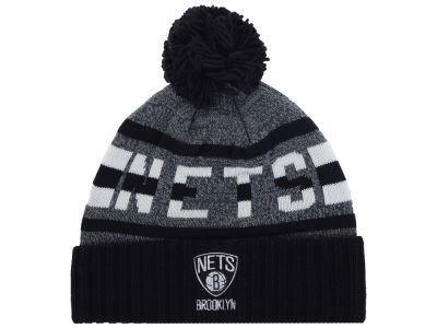 best service fe9fd 44559 Brooklyn Nets Mitchell   Ness Mitchell and Ness NBA Grayish Knit