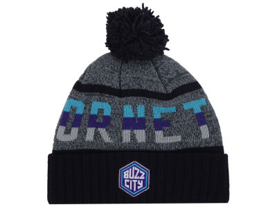 Charlotte Hornets Mitchell & Ness Mitchell and Ness NBA Grayish Knit