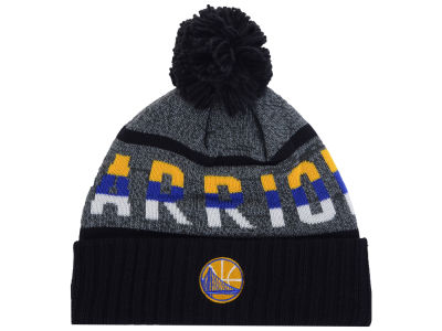 Golden State Warriors Mitchell & Ness Mitchell and Ness NBA Grayish Knit