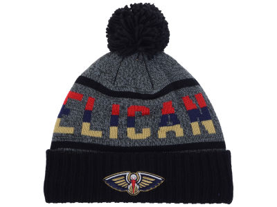 New Orleans Pelicans Mitchell & Ness Mitchell and Ness NBA Grayish Knit