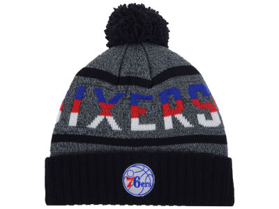 Philadelphia 76ers Mitchell and Ness Mitchell and Ness NBA Grayish Knit