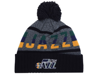Utah Jazz Mitchell & Ness Mitchell and Ness NBA Grayish Knit