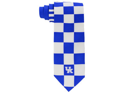 Kentucky Wildcats Print Silk Tie