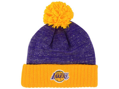 Los Angeles Lakers Mitchell and Ness NBA Basic Heater Knit