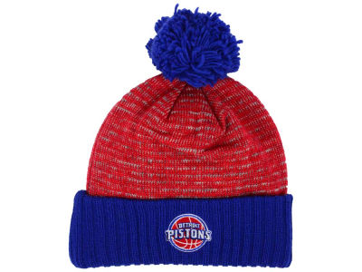 Detroit Pistons Mitchell and Ness NBA Basic Heater Knit
