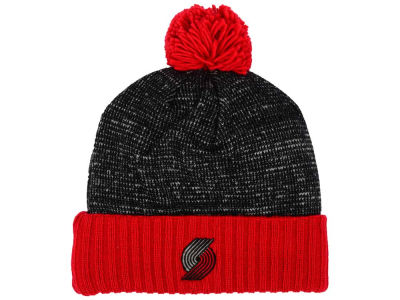 Portland Trail Blazers Mitchell & Ness NBA Basic Heater Knit