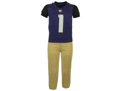 Washington Huskies NCAA Toddler Jersey Pant Set